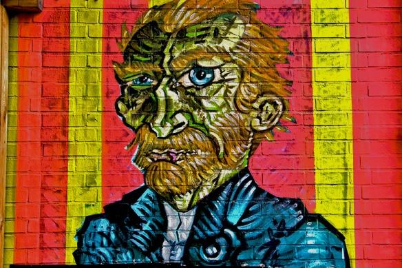 Saarbrücker Graffiti - Van Gogh